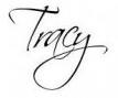 Tracy signiture
